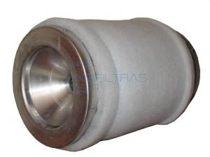 Carbobig filter with activated carbon