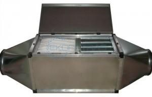 Filter unit with activated carbon